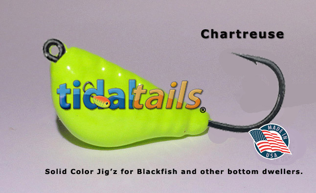 Blackfish Jigs 2 ounce Tautog Pink and chartreu Porgy 3 Pack Sea Bass Fluke
