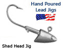 Lead Jig Heads shad